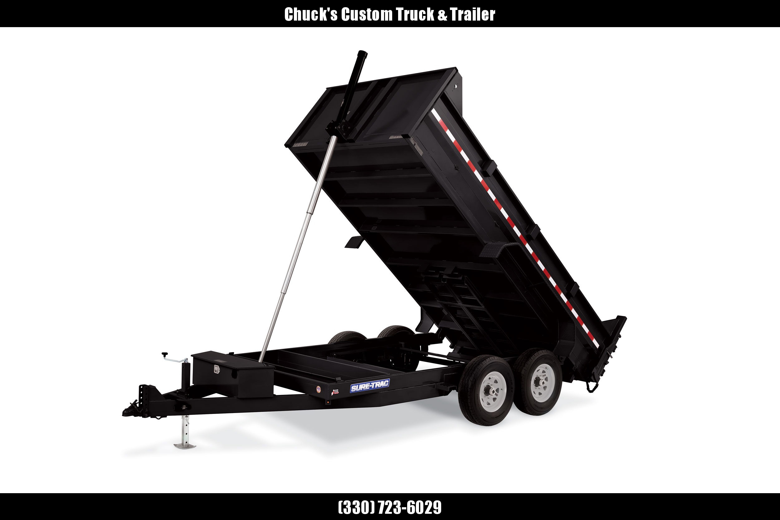 2020 Sure-Trac 82 IN X 16 LP 16K Telescopic Dump