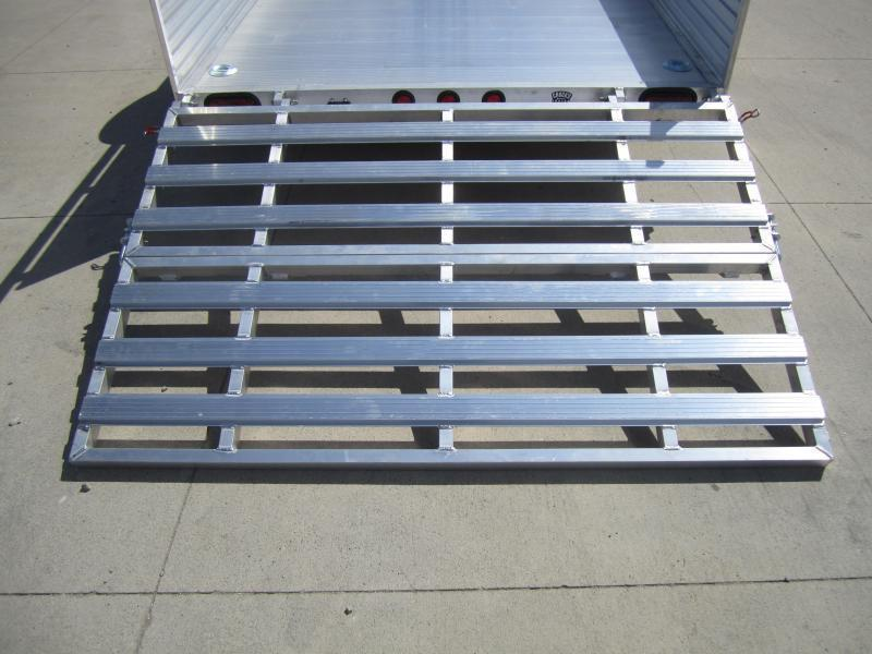 """2020 Primo 6'X10' ALL ALUMINUM 16"""" HIGH SIDES Utility Trailer"""