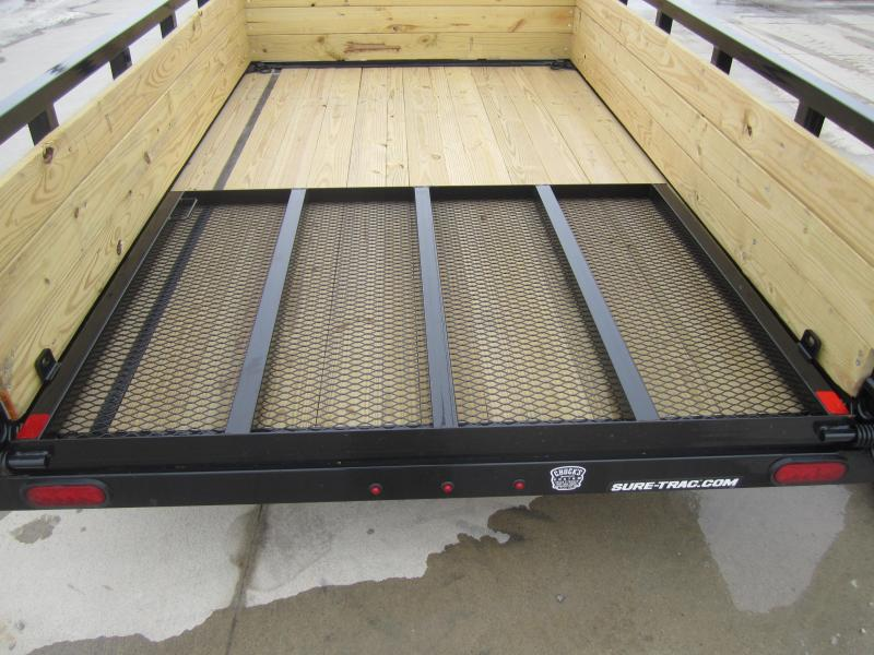 Sure-Trac 6 X 10 Tube Top Three Board  3K Idler