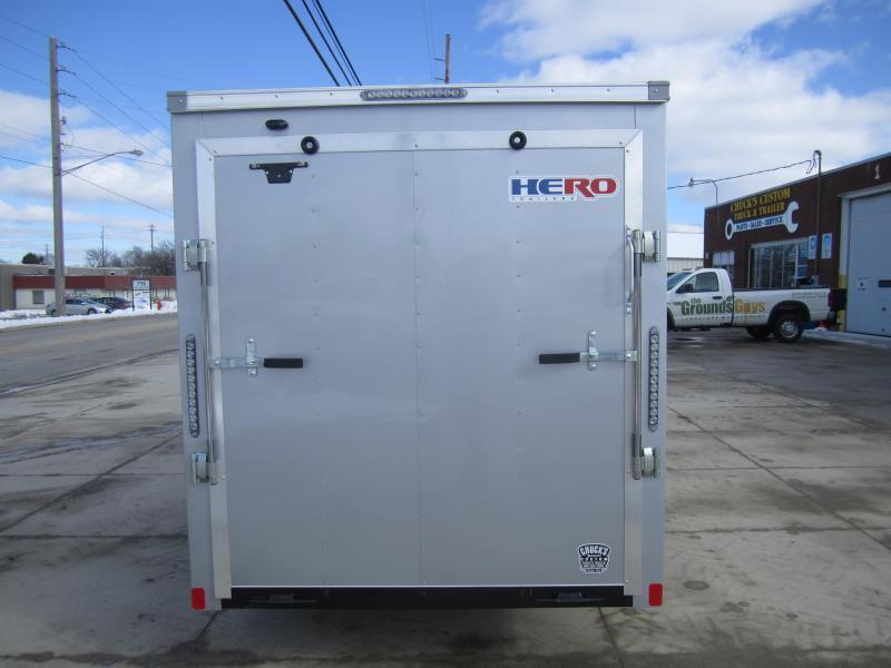 Bravo Trailers 6'X12' HERO RAMP DOOR Enclosed Cargo Trailer