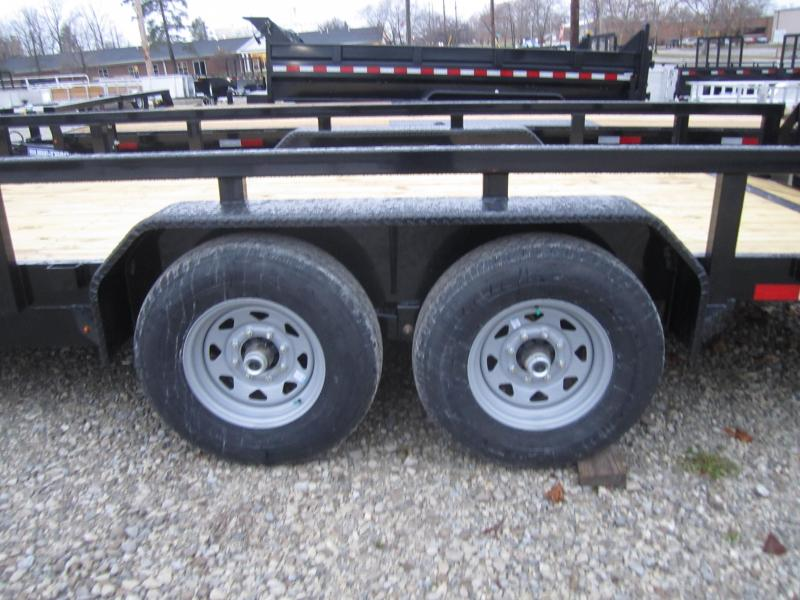 2020 Sure-Trac 7 x 20 14K Heavy Duty Equipment Trailer
