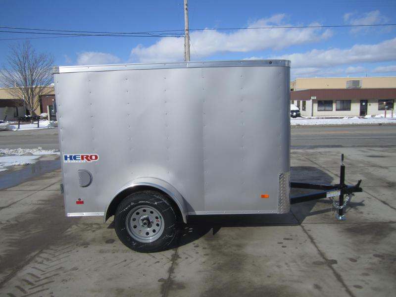 2020 Bravo Trailers 5'X8' SWING DOOR Enclosed Cargo Trailer