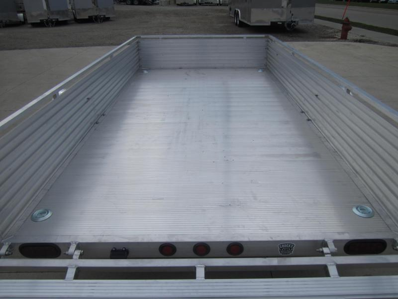 "2020 Primo 6'X12' ALL ALUMINUM 16"" HIGH SIDES Utility Trailer"