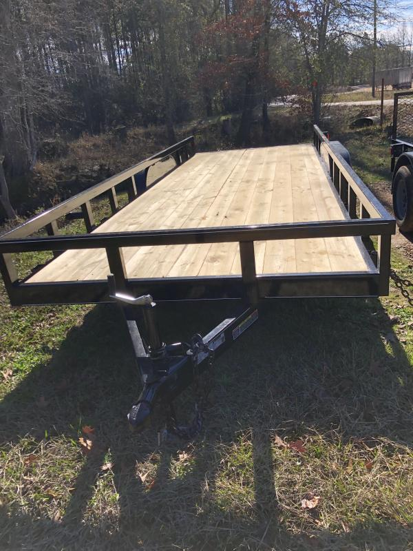 "2019 Other 6'10""x20' Flatbed Trailer"