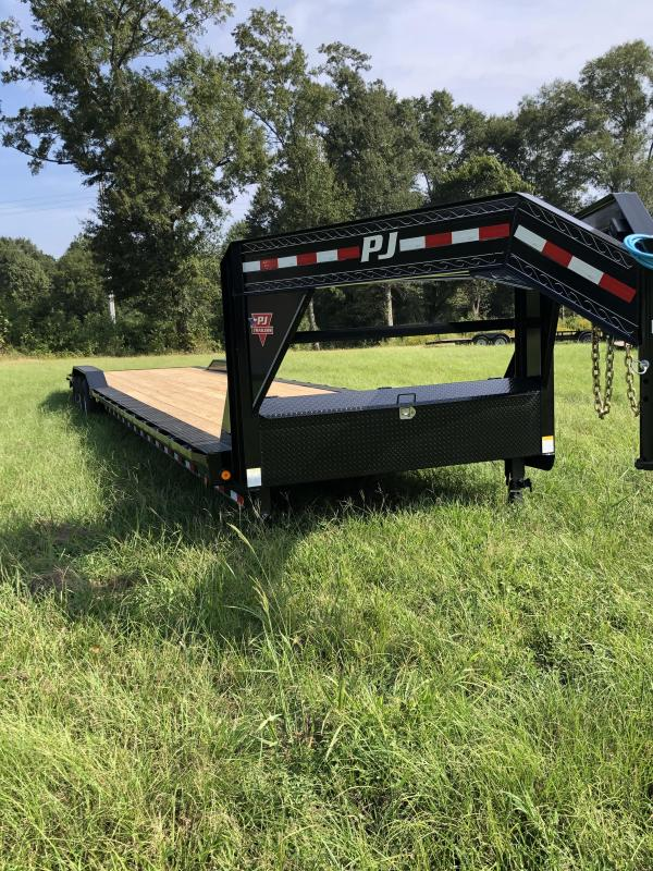 2020 PJ Trailers 102x40 Gooseneck Car / Racing Trailer