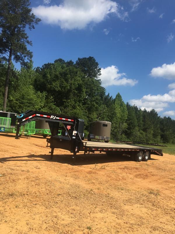 2019 PJ 102x30 Gooseneck trailer