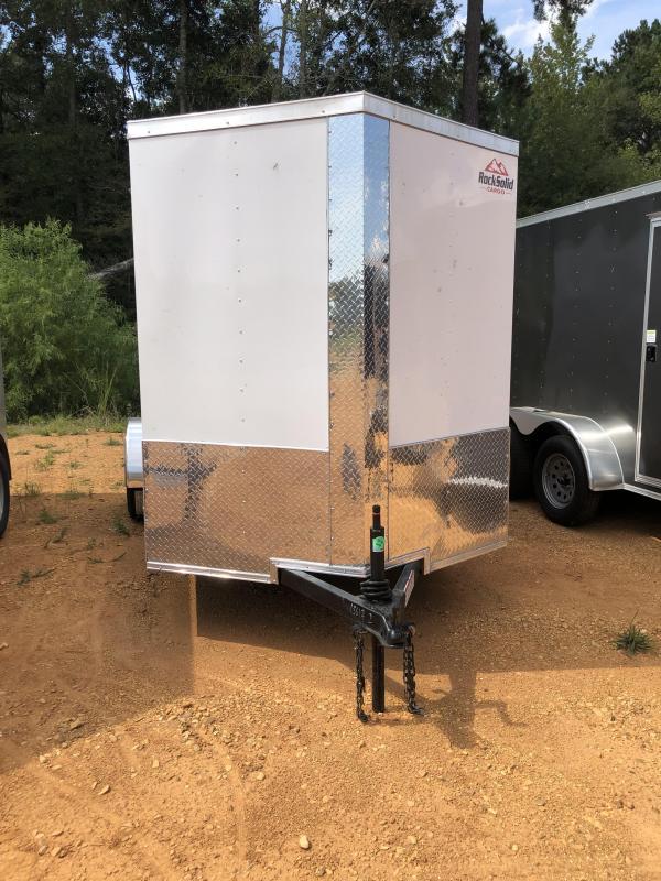 2020 Rock Solid Cargo 6x12 Enclosed Cargo Trailer