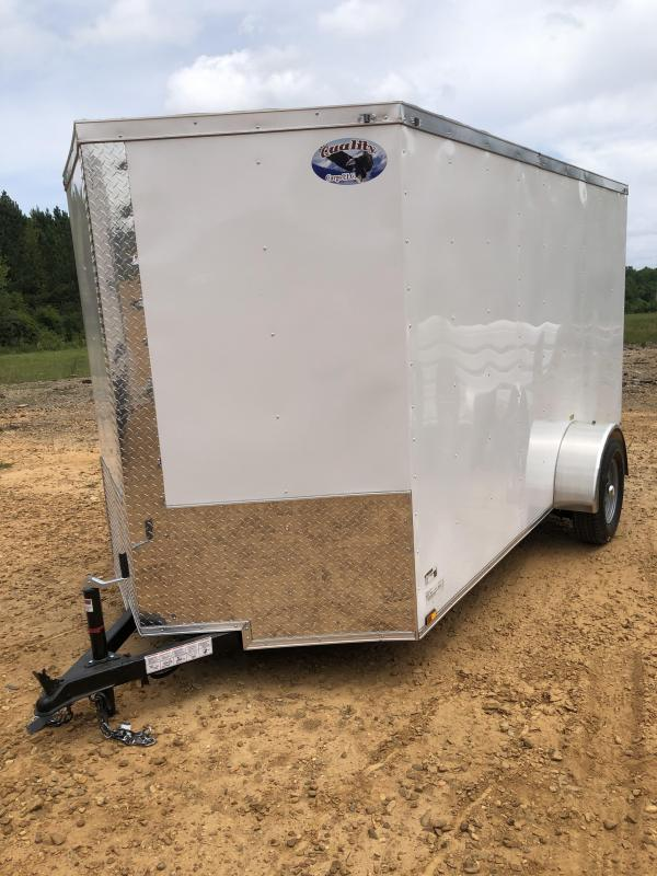 2020 Quality Cargo 6x12 Enclosed Cargo Trailer