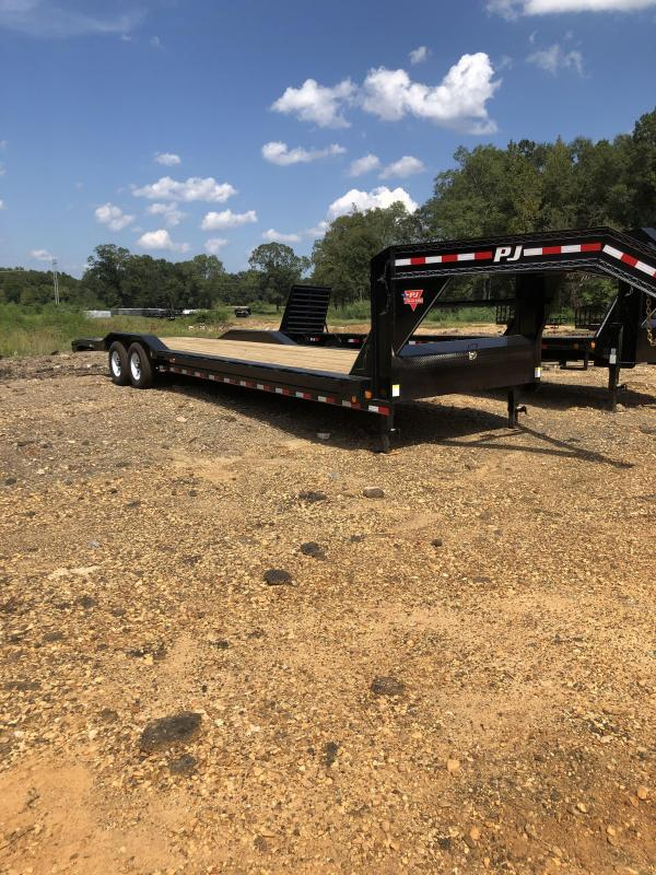 2020 PJ Trailers 102x32 Gooseneck Car / Racing Trailer