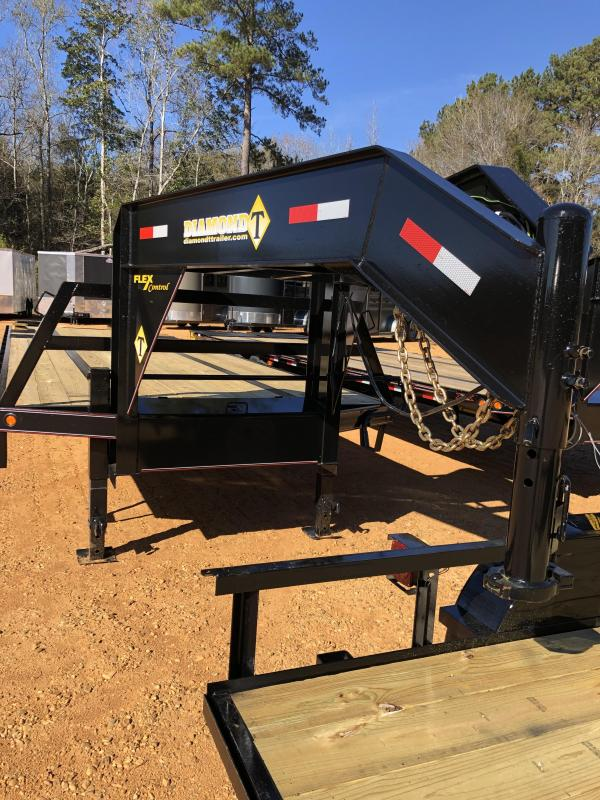 2020 Diamond T Trailers 10232DTF Flatbed Trailer