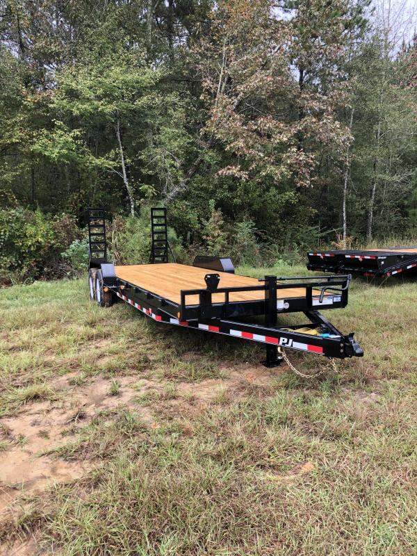 2020 PJ Trailers CC242 Equipment Trailer
