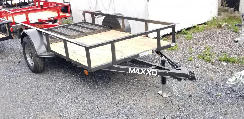 2019 Maxxd  5X10  Angle Utility Trailer