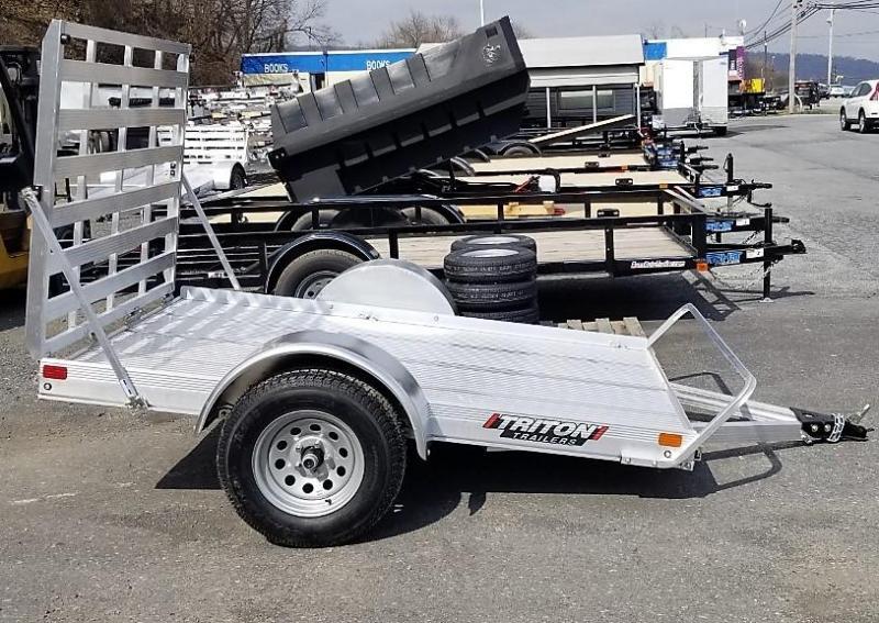 2020 Triton Trailers 5x8 Aluminum Utility Trailer
