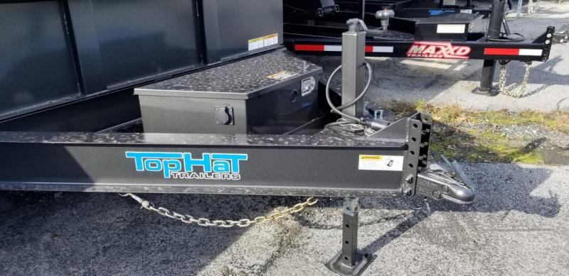 2020 Top Hat Trailers 7X16 LO-PRO Dump Trailer