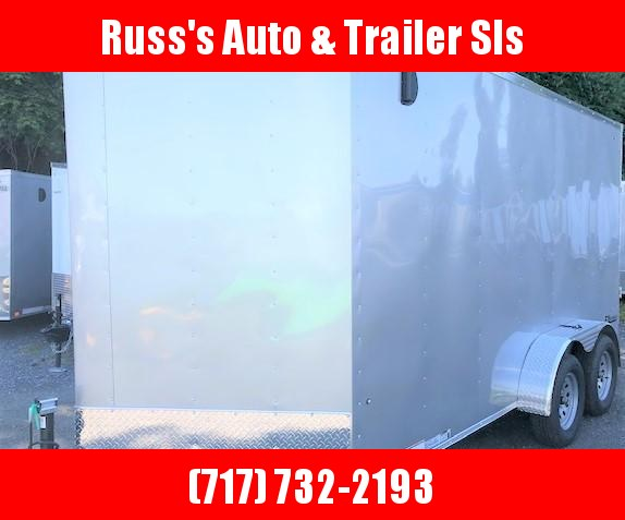 2020 Cargo Express 7X14 EX DLX Enclosed Trailer