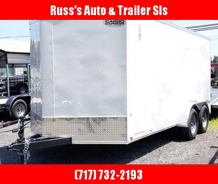 2020 Cargo Express 7X16 EX DLX Enclosed Trailer