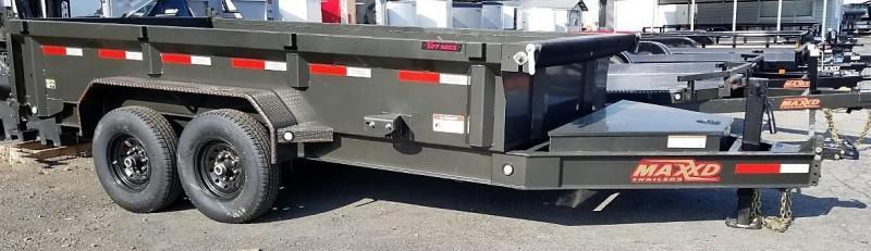 2020 MAXXD 7X14 Dump Trailer 14k