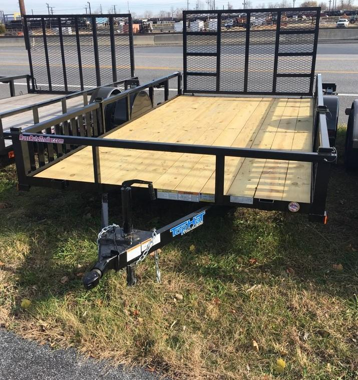 2020 Top Hat Trailers 7X14 ATV Trailer