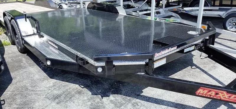"2019 MAXXD 7X18 N5X Car Hauler w/Winch Plate 5""Tubing"