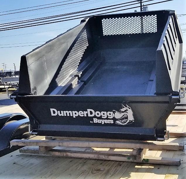 2020 SaltDogg 8FT DUMP INSERT DUMPERDOGG POLY W/TARP ROLLER KIT