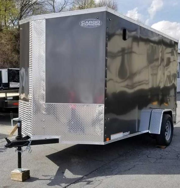 2020 Cargo Express 6x12 XLW Enclosed Trailer