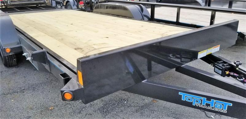 2020 Top Hat Trailers 7X18 Tilt Car / Racing Trailer