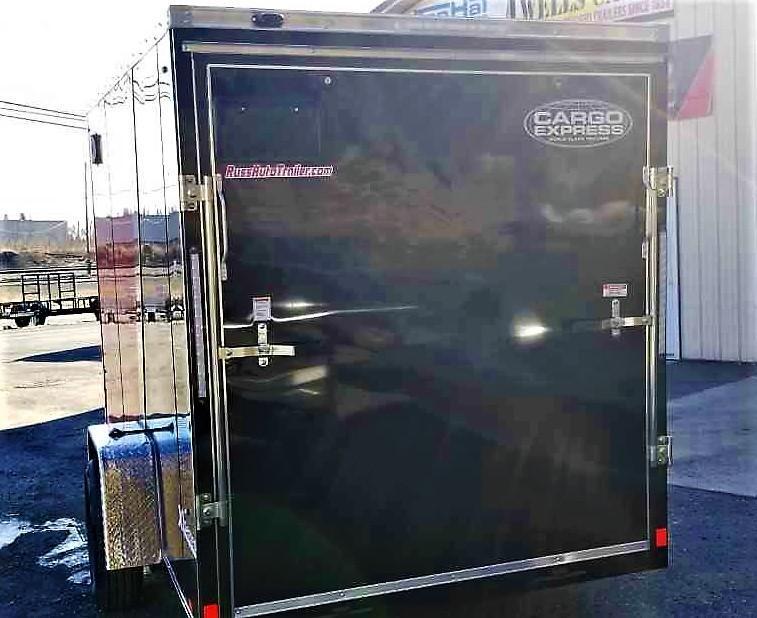 2020 Cargo Express 6 X 12 XLW Enclosed Trailer