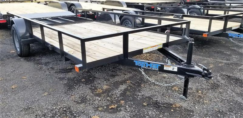 2020 Top Hat Trailers 6.5X14 Utility Trailer