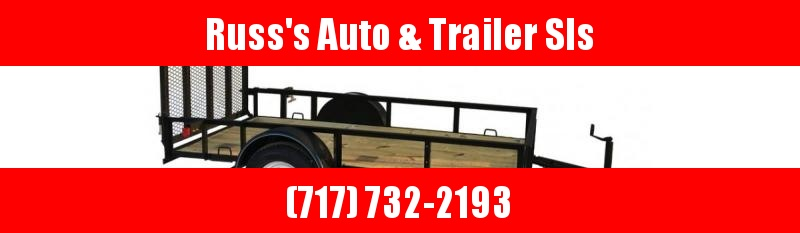 2020 Top Hat Trailers 6X12 Utility Trailer