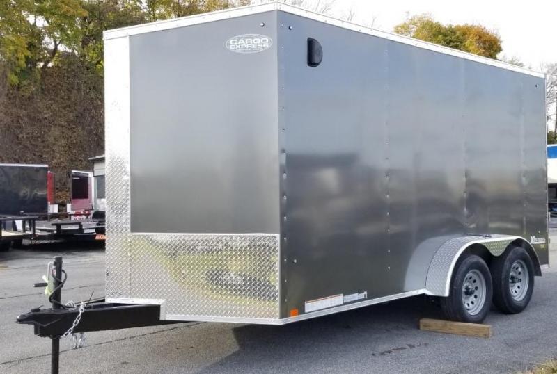 2020 Cargo Express 7X14 Enclosed Cargo Trailer
