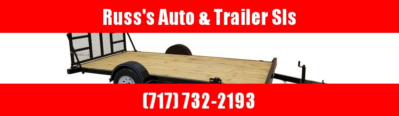 2020 Top Hat 7X12 Utility Toy Carrier Trailer with Ramp Gate