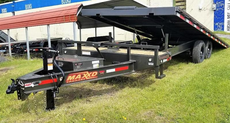 "2020 MAXXD 24'X102"" 14K POWER TILT DECKOVER Equipment Trailer"