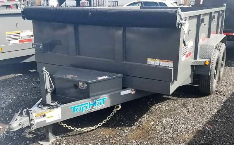 2019 Top Hat 7X12 Dump Trailer 12K