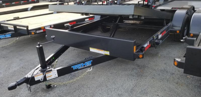 2020 Top Hat Trailers 7X18 Tilt Car / Racing Trailer