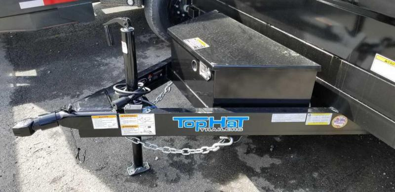 2019 Top Hat 6.5X10 Dump Trailer w/Tarp 7K