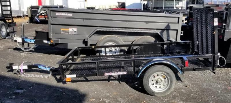 2020 Top Hat Trailers 4X8 Utility Trailer w/Mesh Deck