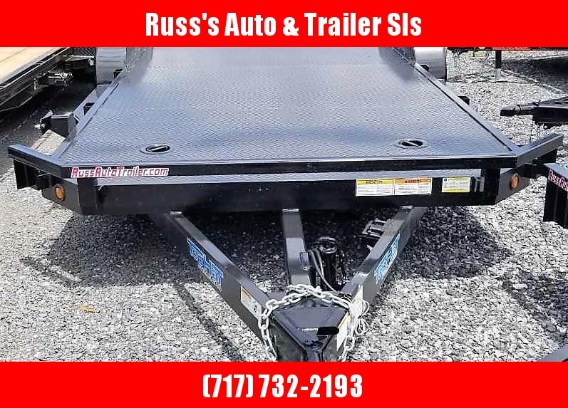 2019 Top Hat 7 X 18 CarHauler Trailer w/Steel Deck 7k