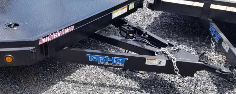 2019 Top Hat 7 X 18 CarHauler Trailer w/Steel Deck 7k