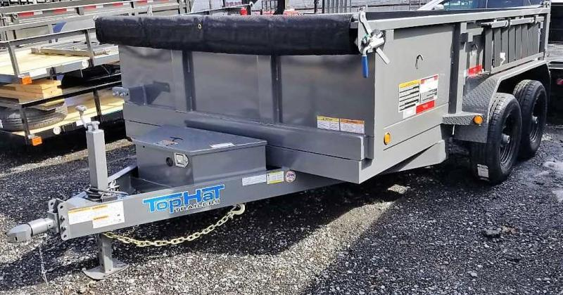 2019 Top Hat 7X12 Dump Trailer 10K