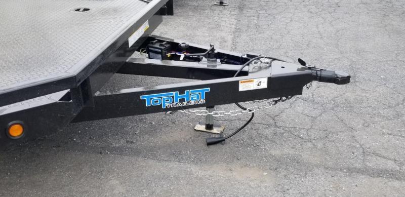 2020 Top Hat 7 X 18 CarHauler w/Steel Deck 7k