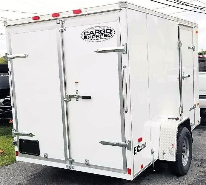 2020 Cargo Express 6X10 Enclosed Cargo Trailer