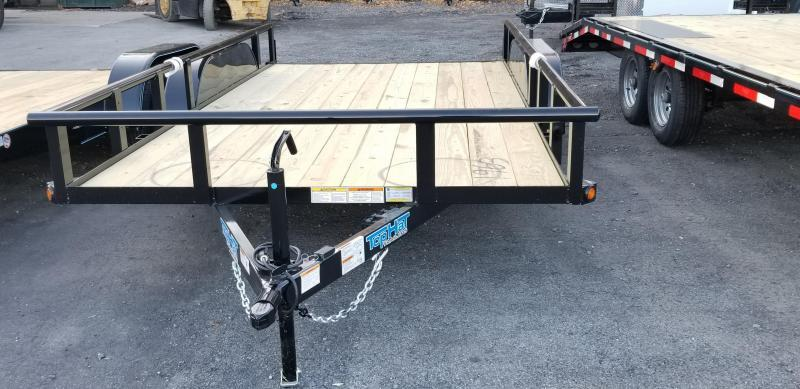 2019 Top Hat 7 X 14 Utility Trailer 7k GVWR