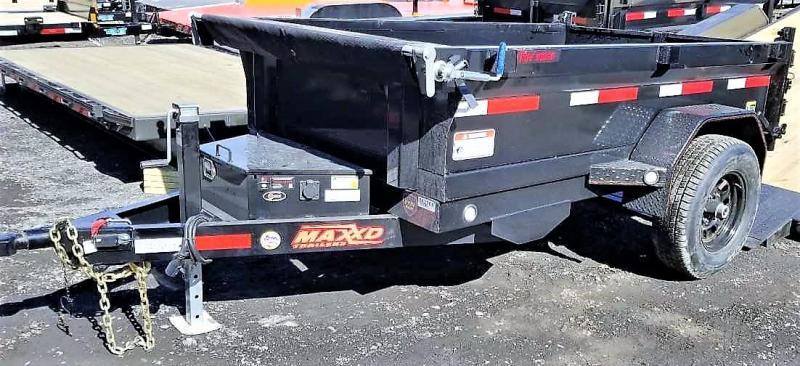 2019 MAXXD 5X8 Dump Trailer 5200LB GVWR