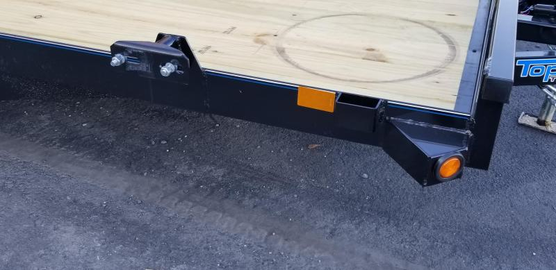 2019 Top Hat 7x14 Carhauler 7K Slide-In Ramps