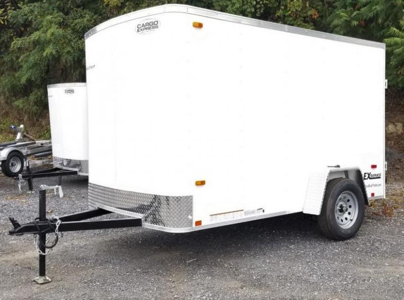 2020 Cargo Express 6X10 Enclosed Cargo Trailer W/Ramp