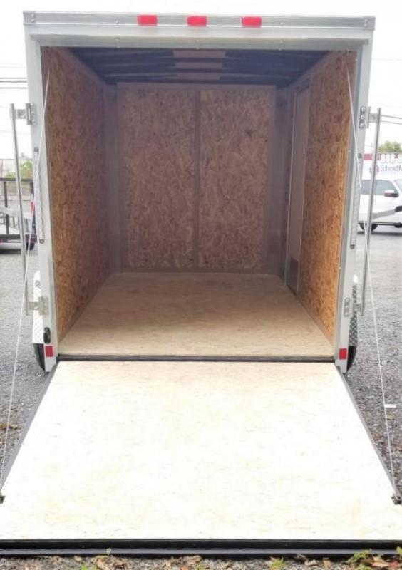 2020 Cargo Express 6X10 Enclosed Cargo Trailer W/Ramp