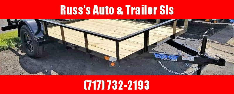 2020 Top Hat 6.5X12 Angle Rail Utility Trailer