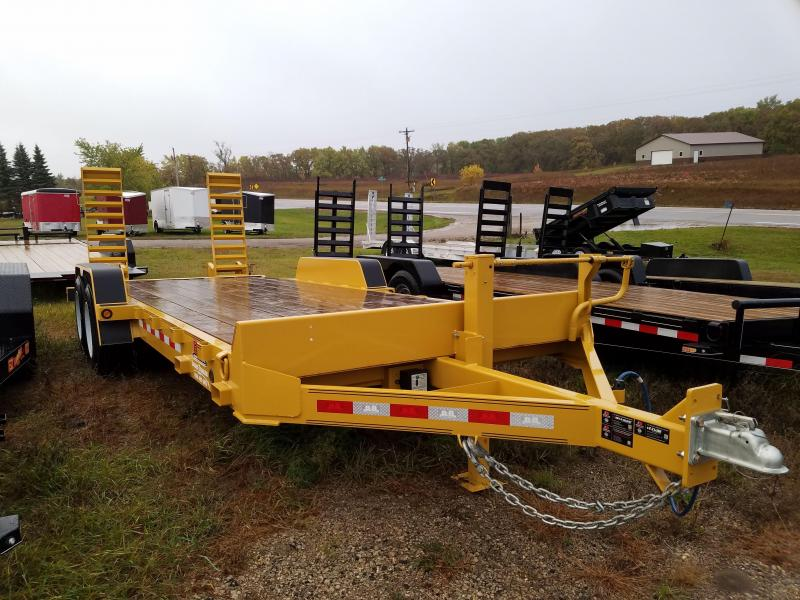 Sparks 20' Skidsteer Trailer heavy duty 8k axles  in  ND