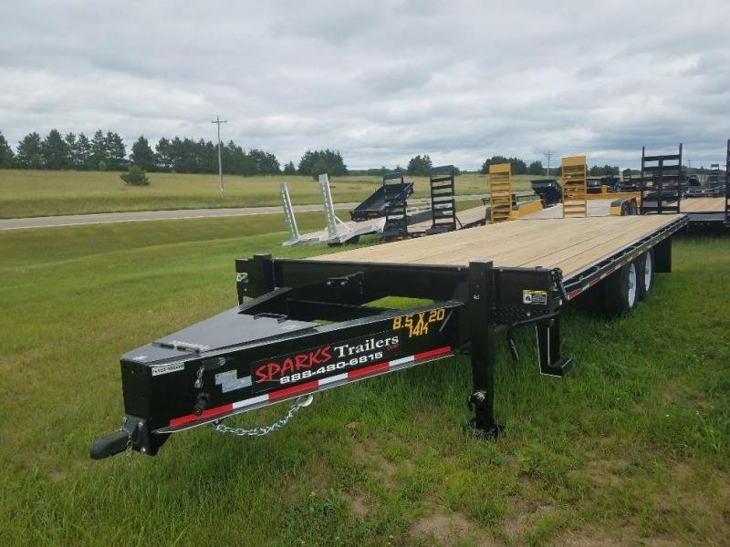Sparks 24 Deckover Equipment Trailer