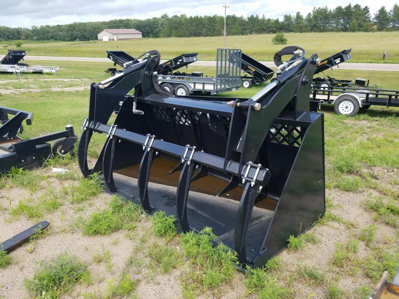 8' Heavy Duty High Capacity Grapple Bucket